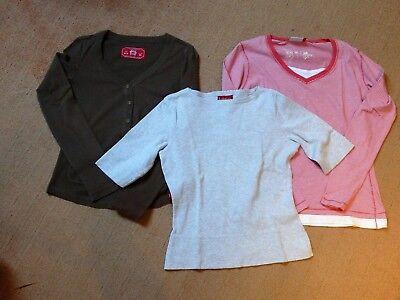 SHIRTS - Langarm und 3/4-Arm - Stück - diverse Marken, Schnitte, Farben - GUT! - 3 Stück Arm Schnitt