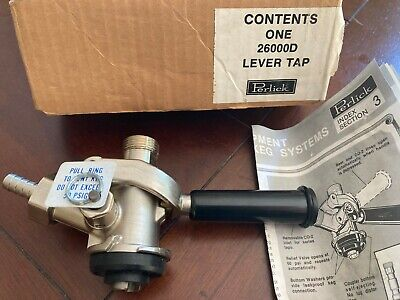 Perlick 26000 D Lever Tap New In Box Beer Keg Tapper Coupler Brewing