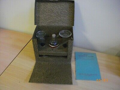 Vintage Original and intact B.D.H CHLOROTEX Test Outfit in Original box Rare!