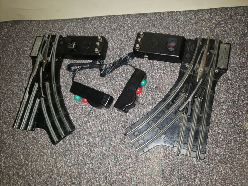 """PAIR of LIONEL No. O22 REMOTE CONTROL """"O"""" GAUGE SWITCHES,"""