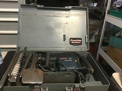 Bosch Hammer Drill 11311evs Sds-max With Chisels And Bits And Hard Case
