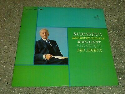 Rubinstein Beethoven Sonatas Moonlight Path RCA Living Stereo LSC-2654 LP - NM