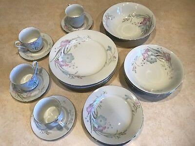 Fortune Fine China 4Pc Place Setting Plus Vegetable Serving Bowl 21 Pieces