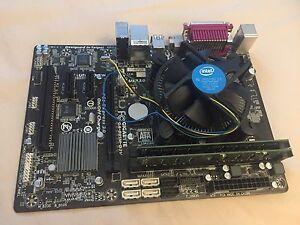 Intel G1840 dual core CPU, gigabyte ga-b85m-d3v mobo , 4gb ddr3