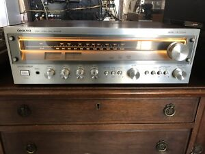 Vintage Onkyo TX-2500MKII Serviced in GUC!