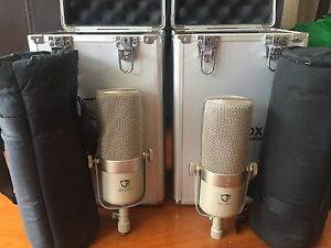 ***SOLD*** Shiny Box Ribbon Mics - Pair + cinemag transformers Hunters Hill Hunters Hill Area Preview