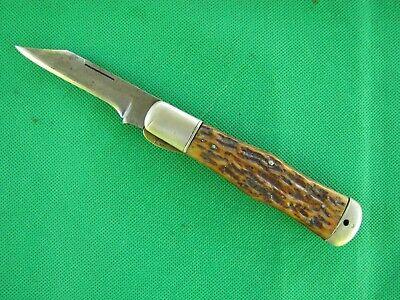 Vintage Cattaraugus Single Blade Pocket Knife