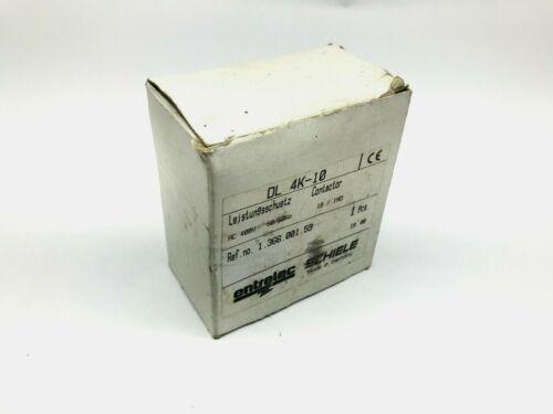 Entrelec  DL4K-10 Contactor 400VAC Coil