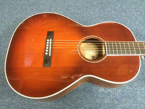 Cort L900P Parlor small bodied Acoustic Guitar - Vintage Sunburst