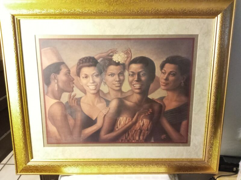 Five African American Women On The Town