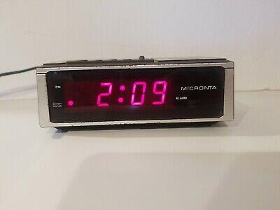 Micronta Vintage Alarm Clock Cat. No. 23-583