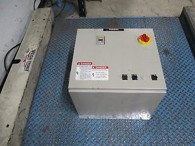 Toshiba Enclosed Ac Drive W Disconnect 577.7-20-30k0 7.5hp Used