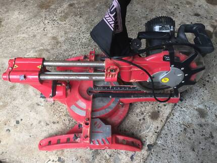 compound mitre saw/drop saw works well, used for project no longe