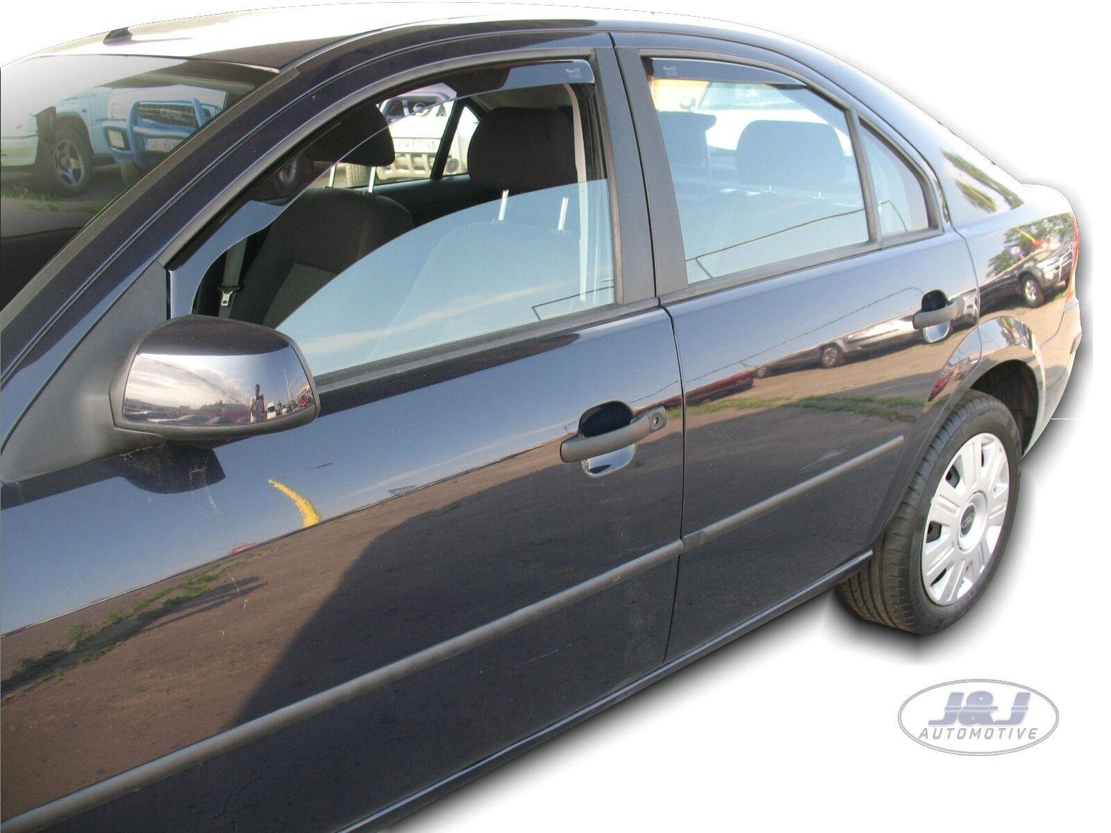 J/&J AUTOMOTIVE Deflecteurs dair D/éflecteurs de Vent Compatible avec Mondeo 3 4//5 Portes Limousine 2001-2007 4pcs