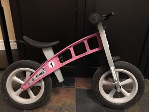 Girls strider bike great condition