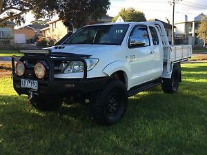 2009 Toyota Hilux Ute 4x4 TD Pascoe Vale South Moreland Area Preview