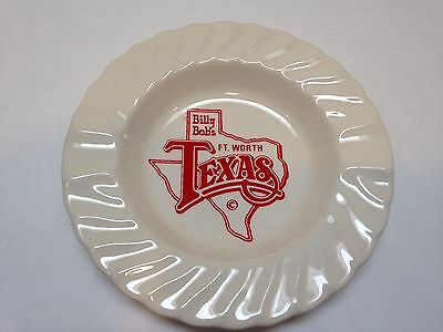 For sale Billy Bob's Fort Worth Texas Worlds Largest Honky Tonk Ashtray