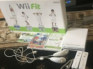 Wii System + Wii Fit+Games