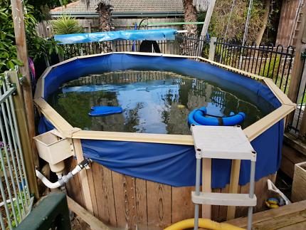 Above ground swimming pool 1.2m deep x 5.9m x 3.0m