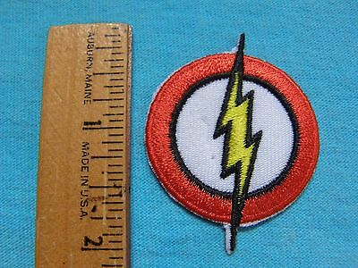 DC Comics Flash Logo MINI 2 Inch Iron On Patch