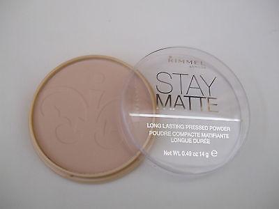 Rimmel Stay Matte Long Lasting Pressed Powder Peach Glow