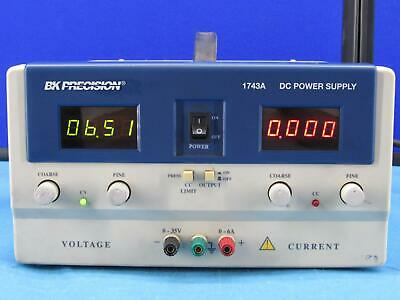 Bk Precision 1743a Dc Power Supply Tested