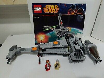 LEGO 75050 Star Wars B-Wing 100% Complete, manual, Ten Numb, Airen Cracken