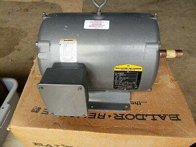New Baldor Reliance Industrial 3 Phase Motor 3 Hp See Pictures For Specs M3325