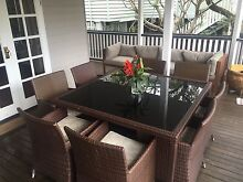 Outdoor Wicker Table Setting- 8 chairs Ascot Brisbane North East Preview