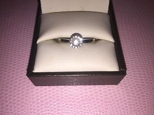 White gold diamond engagement ring (negotiable)