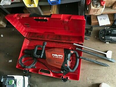 Hilti 1000 Avr Electric Demolition Hammer Chiseling Breaker