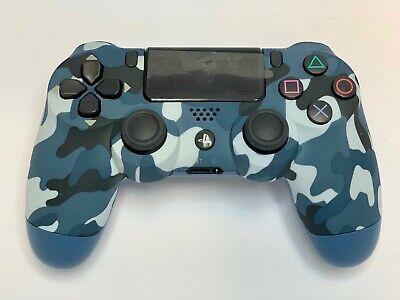 Sony Playstation Dualshock 4 Wireless Controller - Blue Camouflage Camouflage Wireless Controller