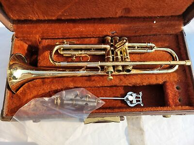 Olds Ambassador Trumpet with Case For Parts or Repair Only