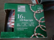 Home Accents Holiday Candy Cane 16 Ft Rope Light LED ...