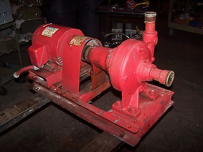 Bell Gosett 5 Hp Centrifugal Water Pump 1-12 X 1-14 3450 Rpm 208-230460v