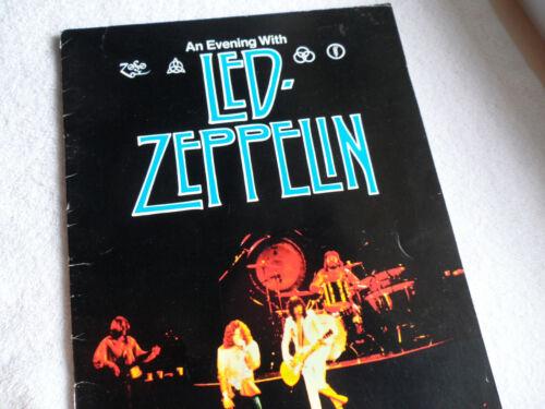 LED ZEPPELIN__Original__1977__CONCERT PROGRAM__EX-