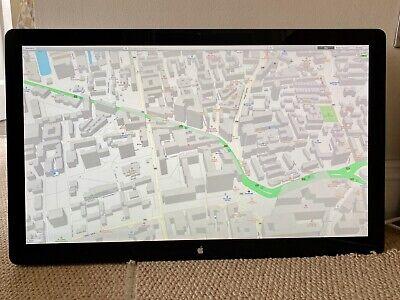 "Apple 27"" LED Cinema Display 2560 x 1440 USB Built-In Speaker VESA Mount"