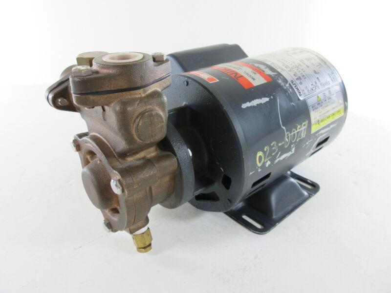 Nikuni 15KPD02S-T11 Bronze Regenerative Turbine Pump - Free Shipping