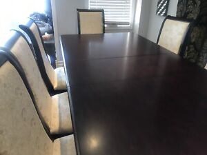 8 piece dining table set!