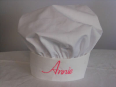 Personalized Childs Chef Hat - Chef Hat Personalized