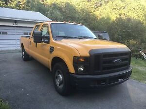 08 FORD 250 XL Pickup Truck SUPERDUTY DOUBLE Cab LONG BOX