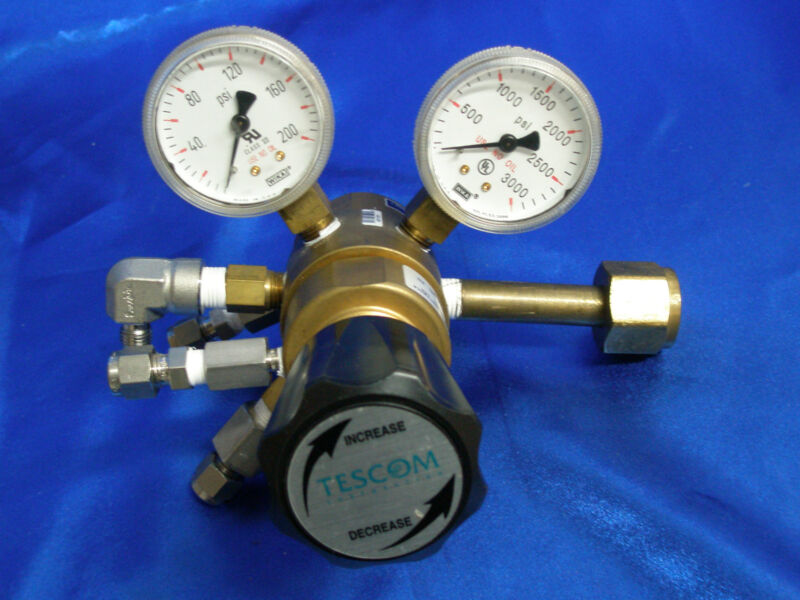 TESCOM 44-341 High Flow High Purity Single-Stage Regulator CGA 350