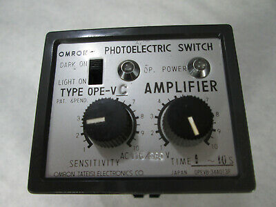Omron Ope-vc Photoelectric Switch Amplifier