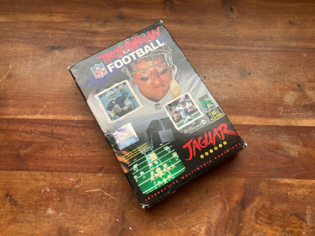 Atari Jaguar [64-bit] - Troy Aikman NFL Football / Good!