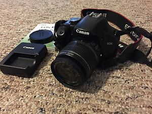 Canon DSLR Xsi with 18-55mm lens