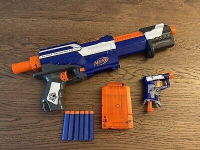 NERF Alpha Trooper CS-12 Jolt Blaster Toy Bundle