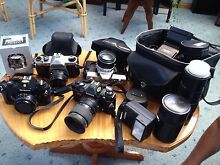 Collection of old cameras Ulverstone Central Coast Preview