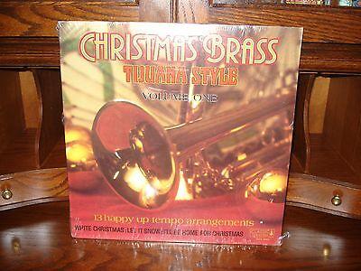 Christmas Brass Tijuana Style Volume One Sealed Record Album Lp Vinyl