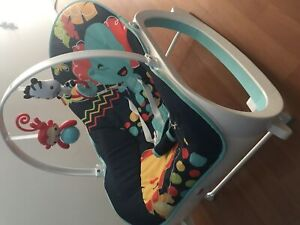 Rocker or stationary baby chair
