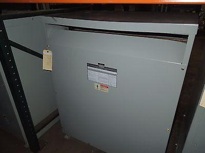 Siemens 112.5kva 480-208y120v 3ph Dry Transformer K-20 Used Electrically Ok